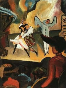 Ballets Russes de August Macke