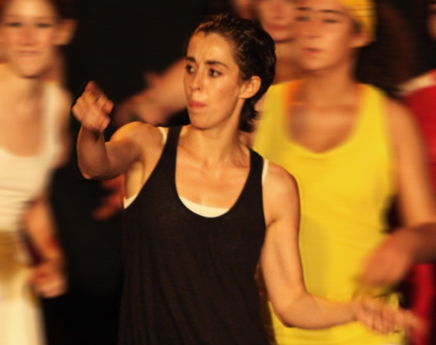 Ana Montalvão, professora de Dança Contemporânea na CulturDANÇA
