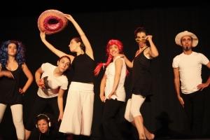 Alunos de Dança Contemporânea