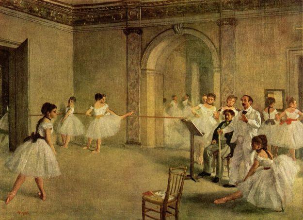 Salão de Ballet na Rua Peletier de Degas