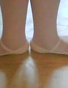 Primeira posição do ballet clássico