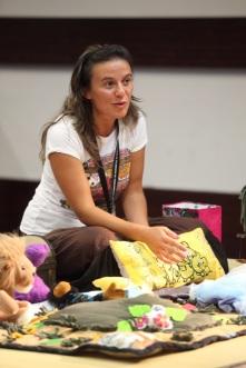 Contadoras de estórias. Foto: Susana Neves